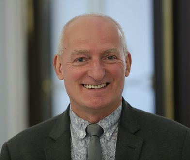 Poseł PiS, prof. Jacek Kurzępa na Przystanku Woodstock