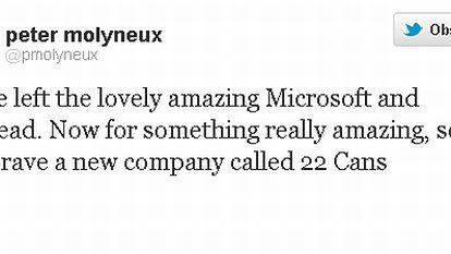 Peter Molyneux, twórca Fable, wizjoner i projektant gier, odchodzi z Microsoftu!
