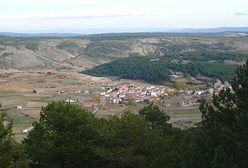 Griegos. Hiszpańska miejscowość, w której latem jest 0 st. C