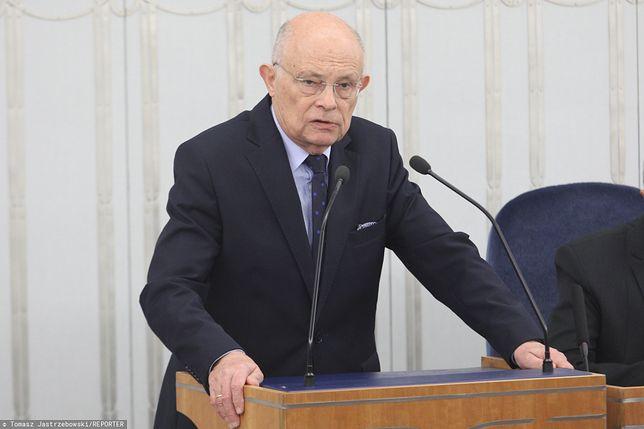 Senator Marek Borowski złożył w Senacie projekt ustawy dot. emerytek z rocznika 1953