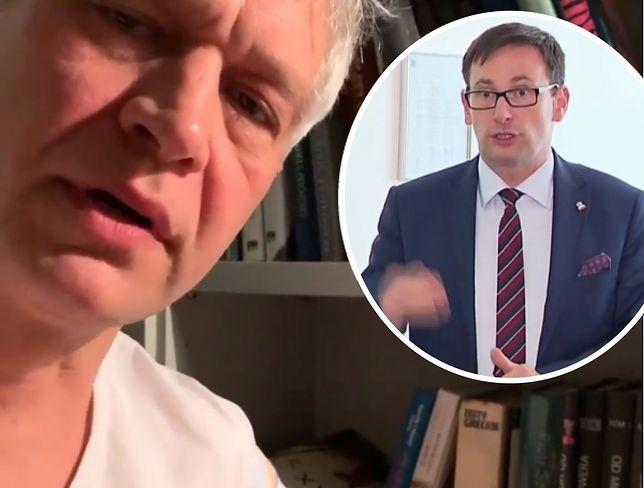 Michał Żebrowski wbił szpilę Danielowi Obajtkowi