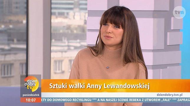 """""""Sztuki walki"""" Anny Lewandowskiej to nowy cykl w telewizji śniadaniowej"""