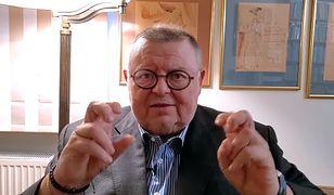 """Wojciech Mann szydzi z zakazów w sylwestra. """"Można wychodzić tylko po karmę dla kota"""""""