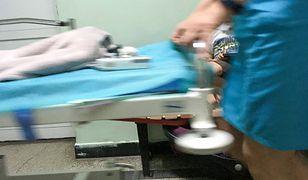 Agresywny mężczyzna zaaatkował pielęgniarki na porodówce