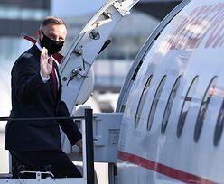 Duda lubi odlecieć. Tak prezydent latał na weekendy do Krakowa
