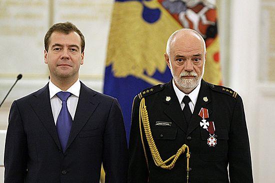 Polak odznaczony orderem przez Dmitrija Miedwiediewa