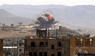 Koalicja arabska przechwyciła dwa pociski z Jemenu wystrzelone przez Huti