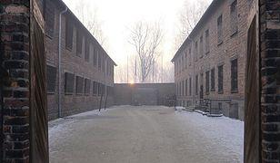Ściana Śmierci na terenie byłego obozu Auschwitz I