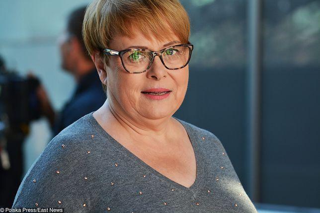 """Ilona Łepkowska wspomina trudne dzieciństwo: """"Byłam chowana w bardzo surowy sposób"""""""