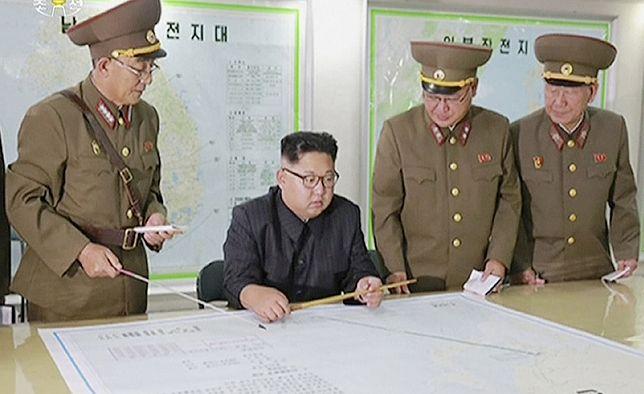 Kim Dzong Un myśli o ataku na bazy USA