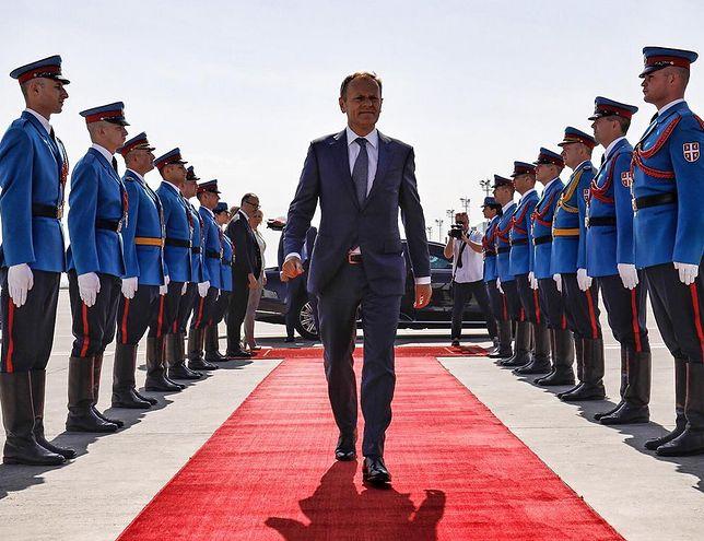 Donald Tusk, szef RE
