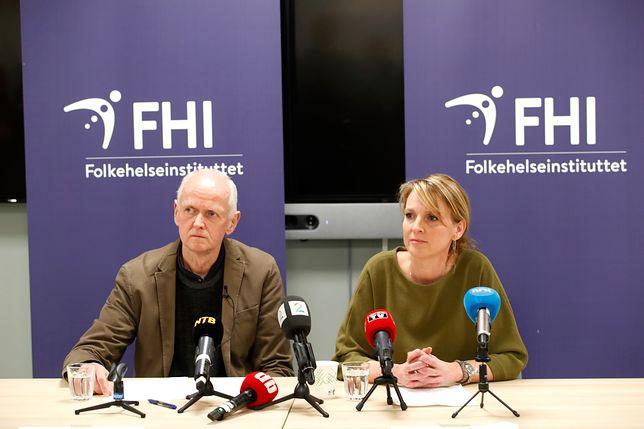 Koronawirus z Chin. Konferencja prasowa Norweskiej Agencji Zdrowia Publicznego