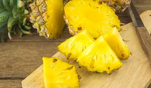Ananasa kochamy za lekko słodki smak i aromatyczny zapach
