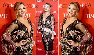 LOOK OF THE DAY: Blake Lively w sukni Marchesa