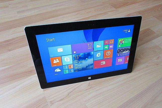 Jeden interfejs dla tabletu i PC, serio? ;)
