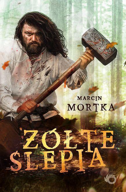 """""""Żółte ślepia"""", Marcin Mortka, wyd. Uroboros, 2020"""