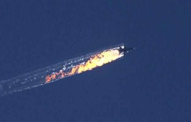 Rosyjski bombowiec Su-24 zestrzelony przez tureckie wojsko