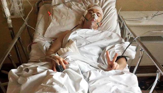 Aktor pokazał drastyczne zdjęcie ze szpitala. Przeszedł 4 operacje...