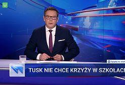 """""""Wiadomości"""" znowu uderzyły w Tuska. I to ze zdwojoną siłą"""