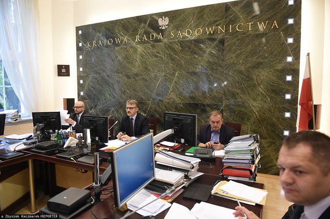 Krajowa Rada Sądownictwa wybrała 6 nowych kandydatów do Izby Dyscyplinarnej SN