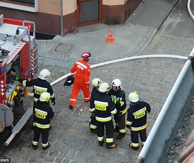 Grodzisk Mazowiecki. Tragiczne informacje po pożarze.