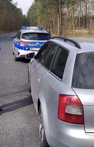 Policja znalazła ukradziony samochód firmy kurierskiej