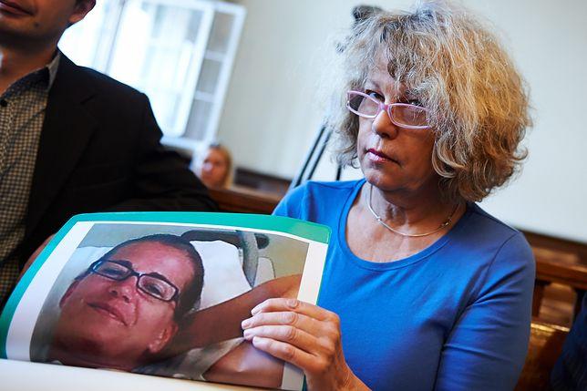 Ann-Katrin Berggren, matka Christiny Hedlund (na fotografii)