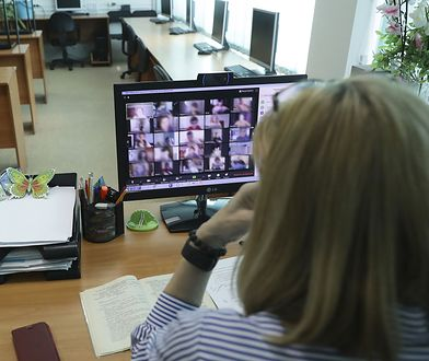 Koronawirus a szkoła. Hejt podczas e-lekcji. Ofiarami nauczyciele (zdj. ilustracyjne)