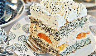 Makowa panienka - ciasto na święta