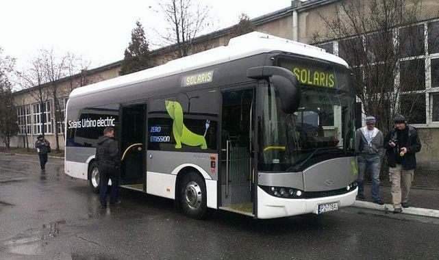 Kraków testuje autobus elektryczny
