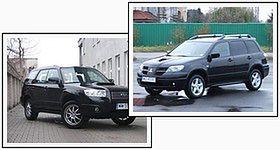 Mitsubishi Outlander kontra Subaru Forester