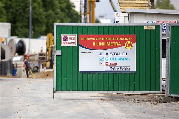 Na budowie II linii metra rozpoczęły się odbiory techniczne