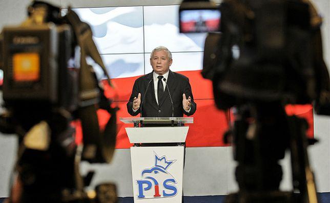 Kaczyński: niech szef PKW zwróci uwagę na hasło Komorowskiego