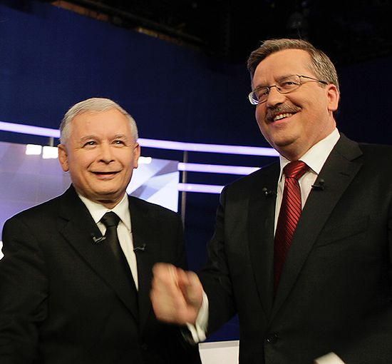 Mecz wygra z debatą Komorowski-Kaczyński?