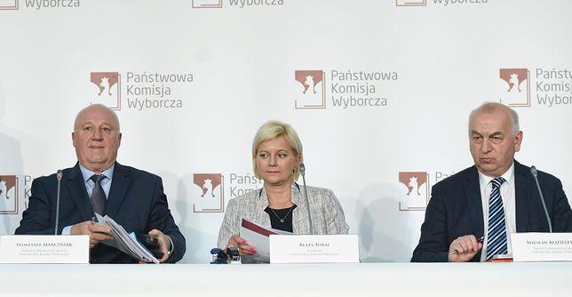 Wybory parlamentarne 2019. PKW - losowanie numerów list wyborczych