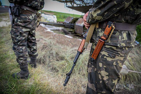 Szturm separatystów na ukraińskie pozycje w Donbasie