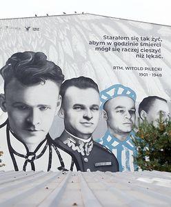 Warszawa. Odsłonięto mural rotmistrza Witolda Pileckiego
