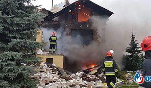 Potężna eksplozja gazu pod Warszawą. Wychodzą na jaw nowe fakty