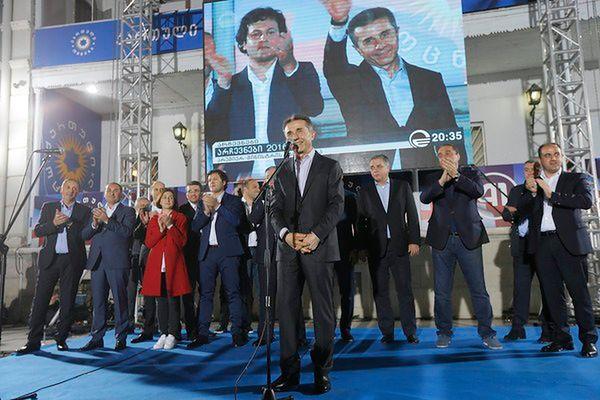 Gruzini poznali ostateczne wyniki wyborów