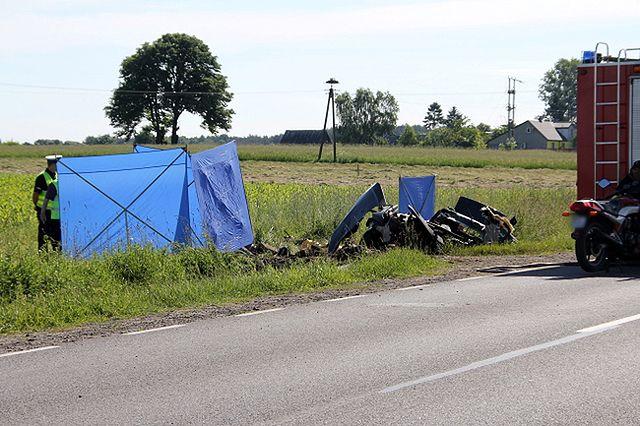 5 osób zginęło na prostym odcinku drogi