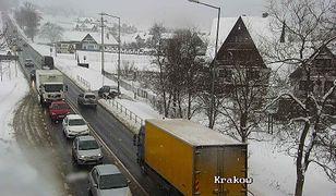 Trudne warunki na Zakopiance (Fot.: gddkia.gov.pl)