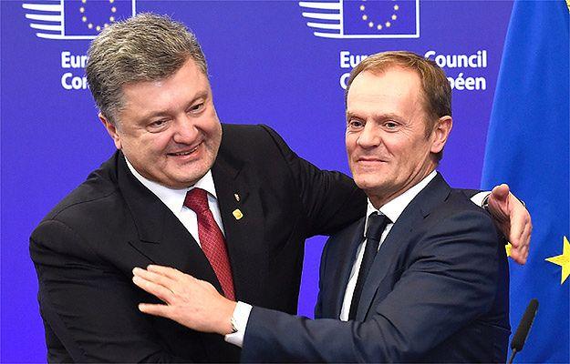 Petro Poroszenko prosi Donalda Tuska o misję UE