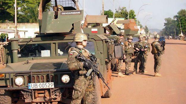 Polscy żołnierze w Republice Środkowoafrykańskiej