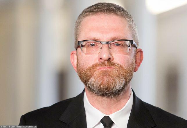 Grzegorz Braun zabrał głos w Sejmie