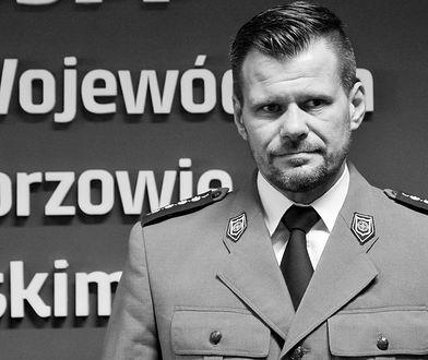 Szef lubuskich antyterrorystów Adam Pawlak zmarł w czerwcu br.