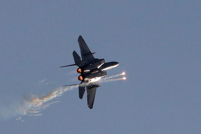 Izraelskie lotnictwo w świetle dnia zaatakowało Syrię