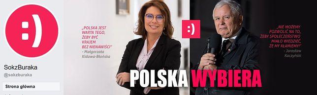 """Strona facebookowa """"SokzBuraka"""""""