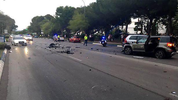 Hiszpania: samochód uderzył w tłum ludzi, wielu rannych