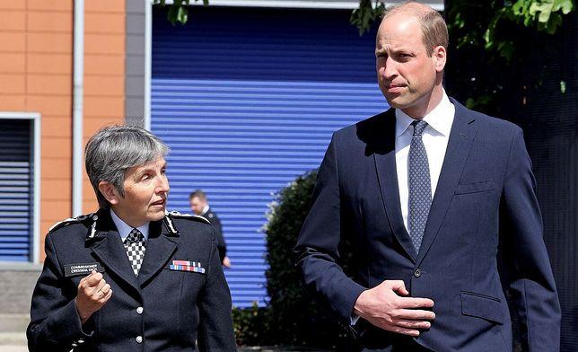 Książę William odwiedził policjantów, którzy pracowali z zamordowanym we wrześniu sierż. Rataną
