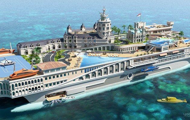 Pływające miasto za miliard dolarów